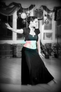 Danielle dancing